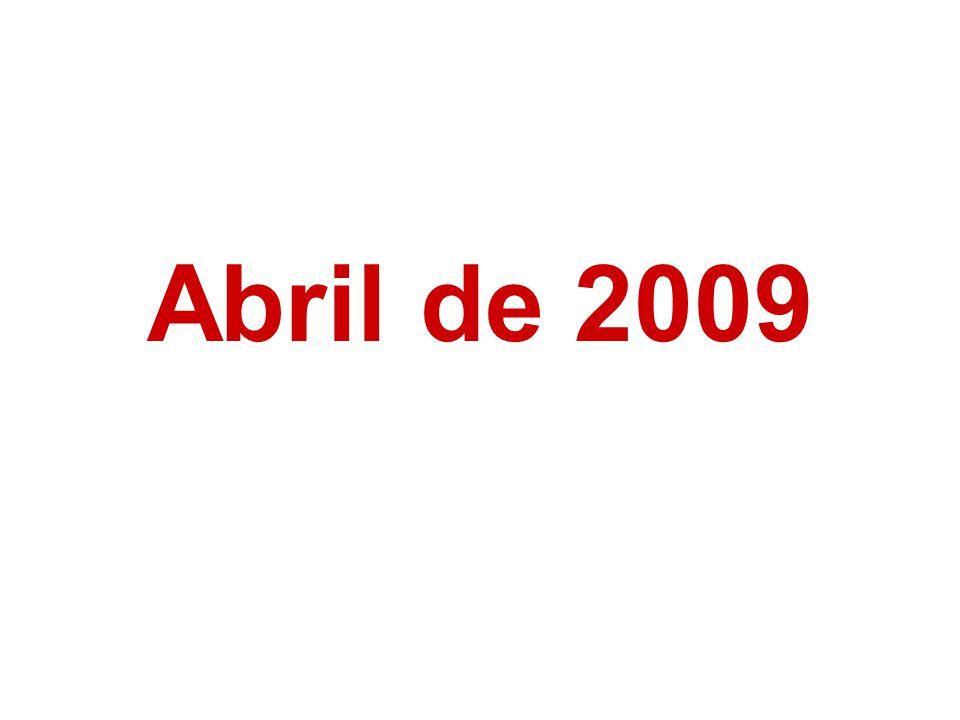 Abril de 2009