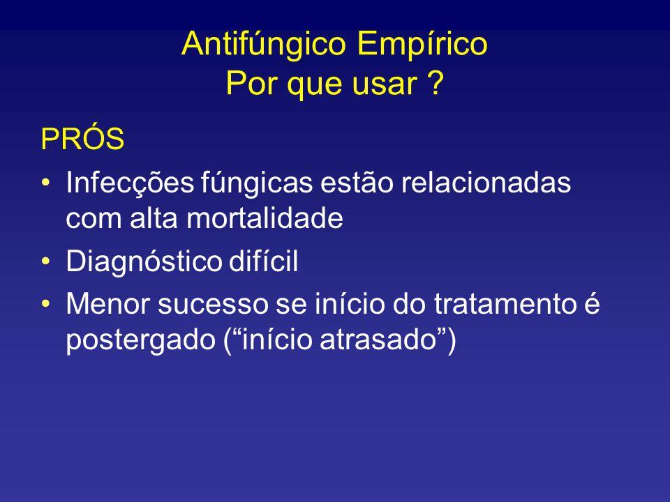 Antifúngico Empírico Por que usar .
