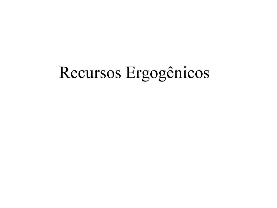Recursos Ergogênicos