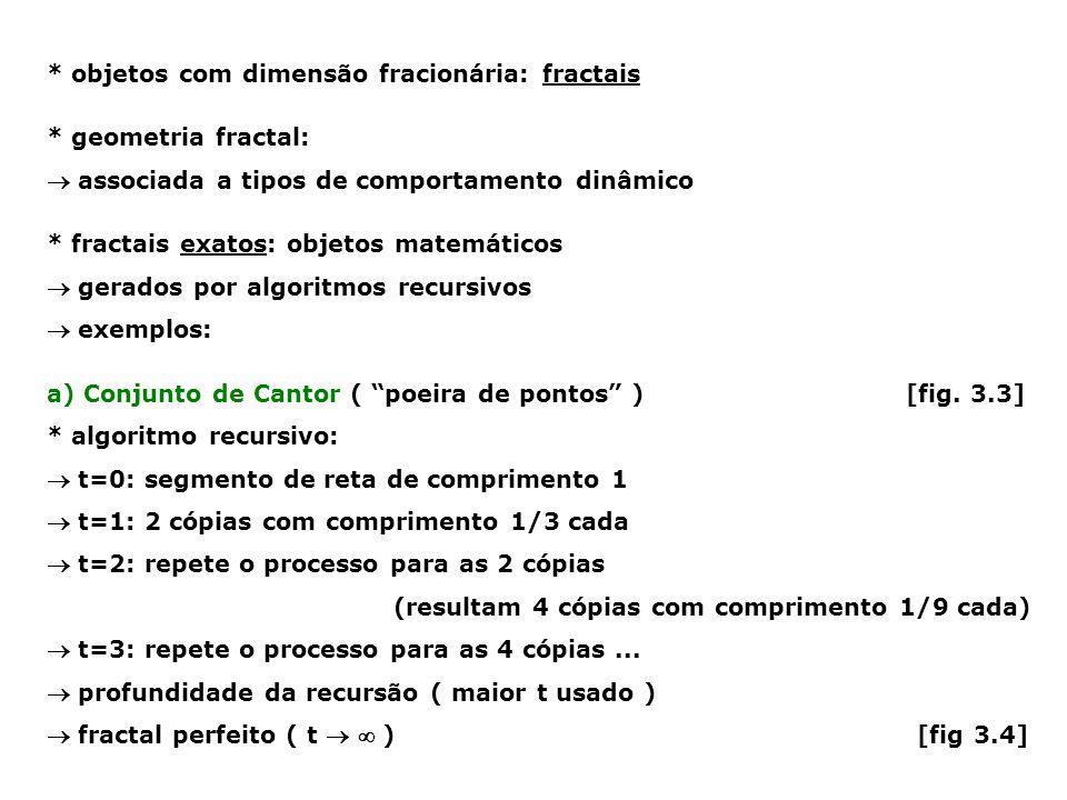 ponto 0: 1 região (triângulo inteiro) ponto 1: 3 regiões  resultados: A, B ou C ponto 2: 9 regiões  resultados (1 o e 2 o lances) AA, AB, AC, BA, BB, BC, CA, CB, CC ponto 3: 27 regiões  1 o, 2 o e 3 o lances AAA, AAB, AAC, ABA, etc...