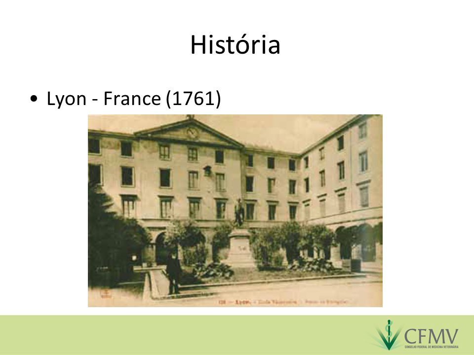 História Lyon - France (1761)