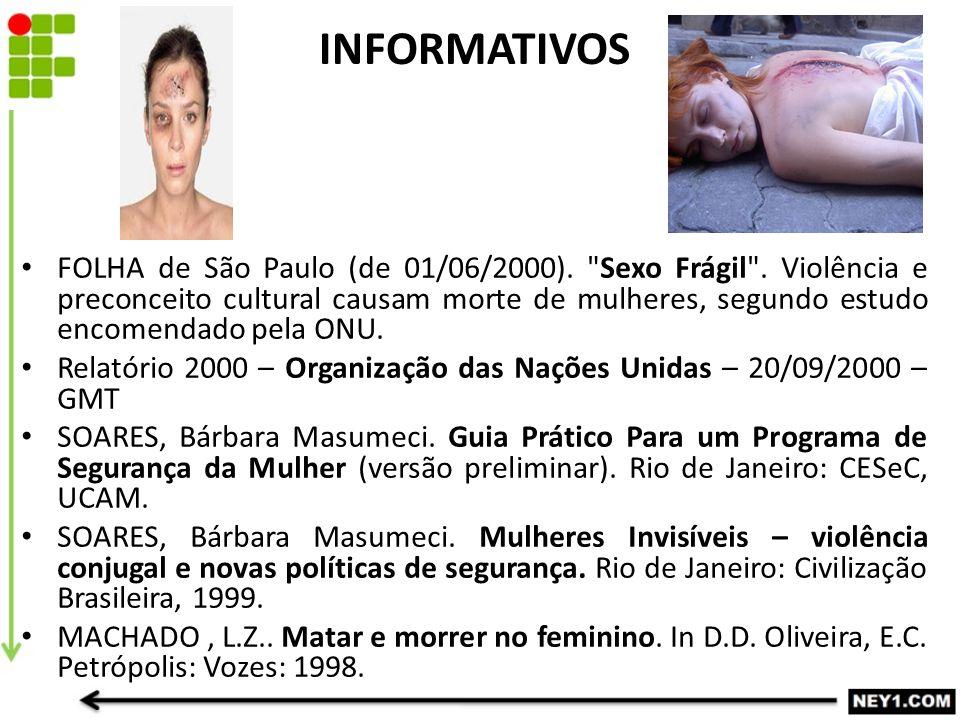 FOLHA de São Paulo (de 01/06/2000). Sexo Frágil .