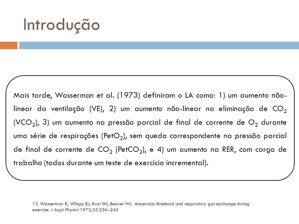 Introdução VT 2 is related to AT, since both are reached at the same time.