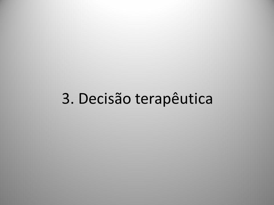 3. Decisão terapêutica