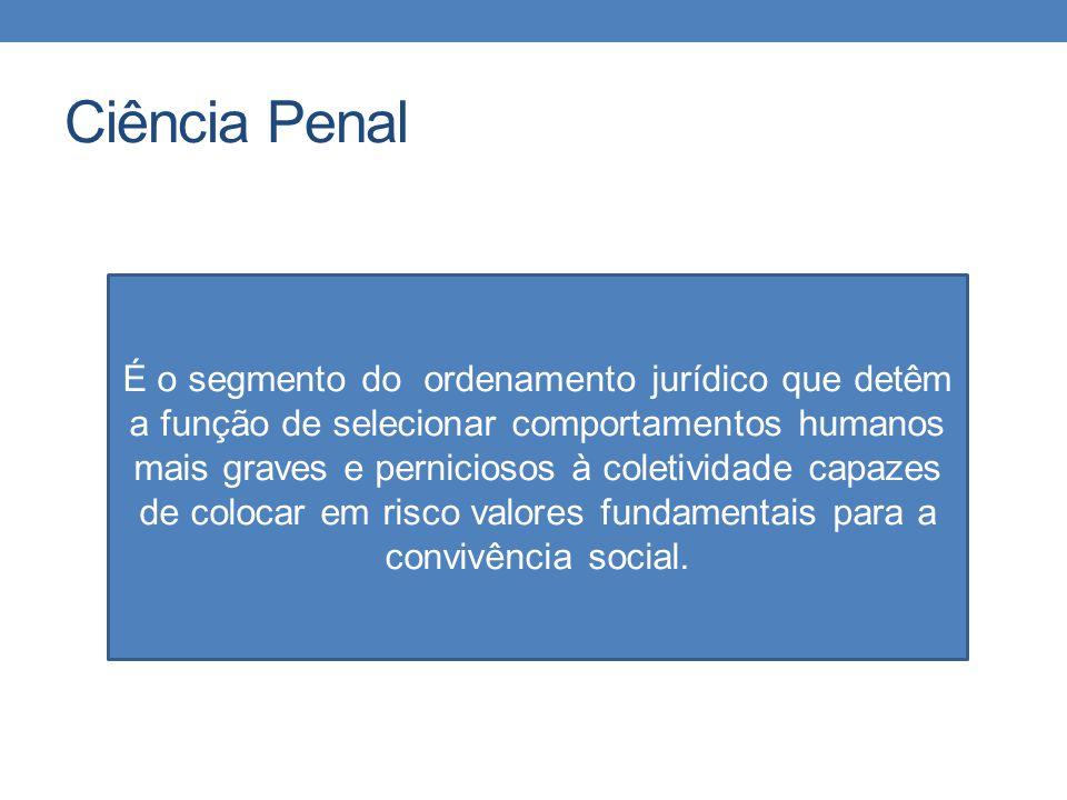 Divisão do Direito Penal Direito Penal Fundamental Direito Penal Comum Direito Penal Complementar Direito Penal Geral Direito Penal especial Direito Penal Local