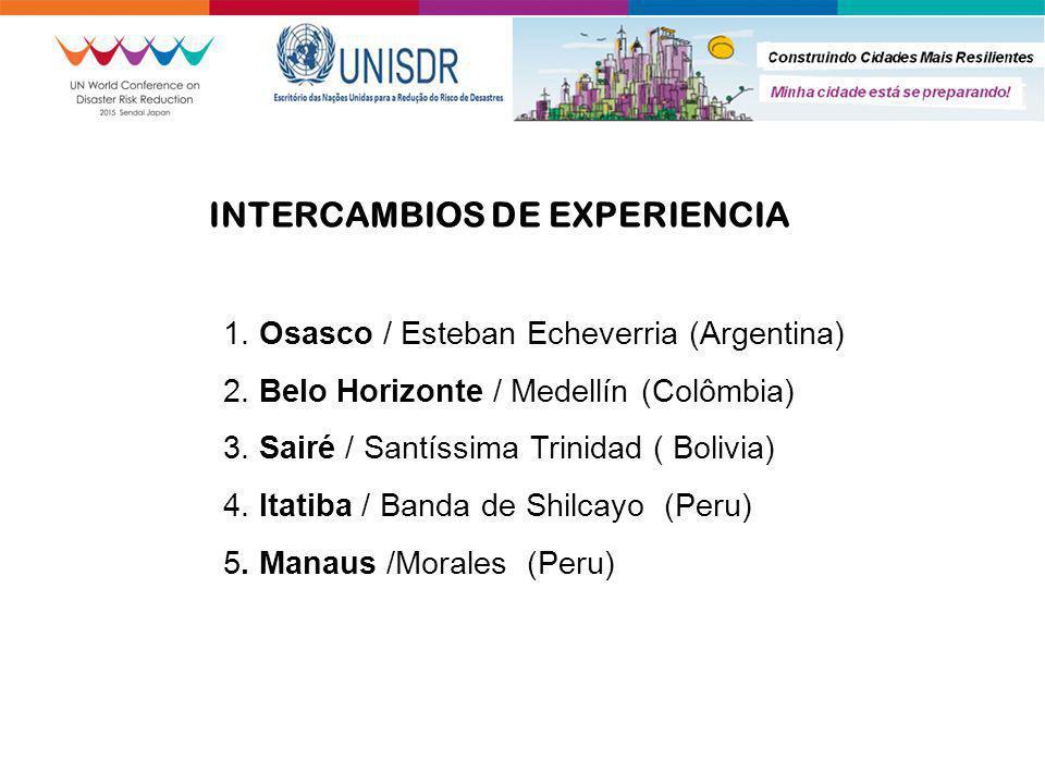 1. Osasco / Esteban Echeverria (Argentina) 2. Belo Horizonte / Medellín (Colômbia) 3. Sairé / Santíssima Trinidad ( Bolivia) 4. Itatiba / Banda de Shi