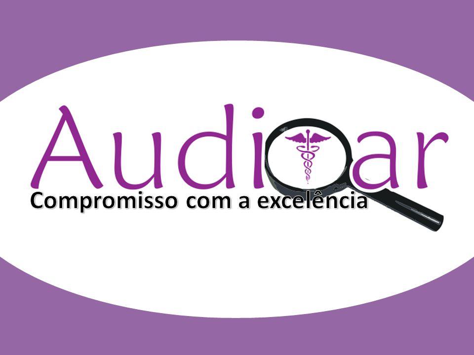 Auditar(colocar a logomarca) Compromisso com a excelência (sugestão)