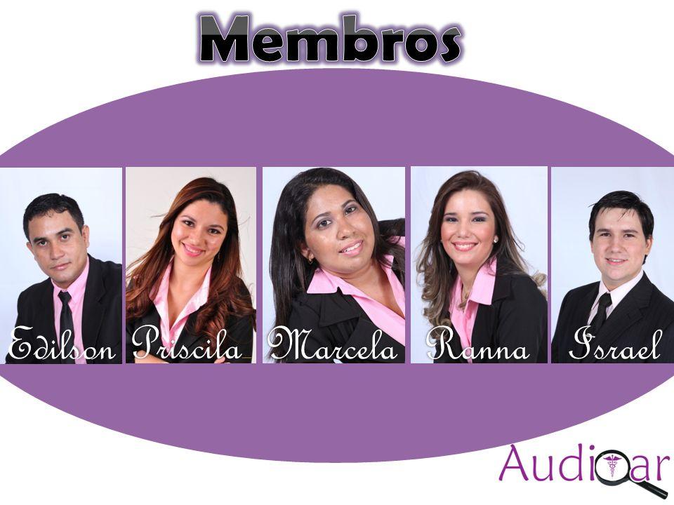 Auditar(colocar a logomarca) Compromisso com a excelência (sugestão) Priscila MarcelaIsrael Ranna Edilson