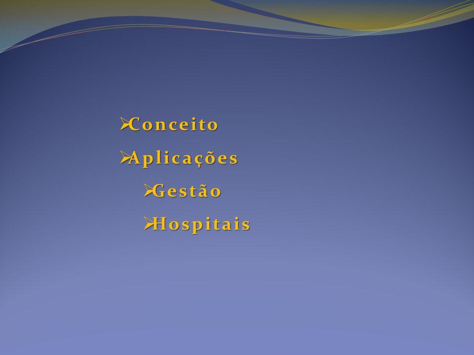  Conceito  Aplicações  Gestão  Hospitais