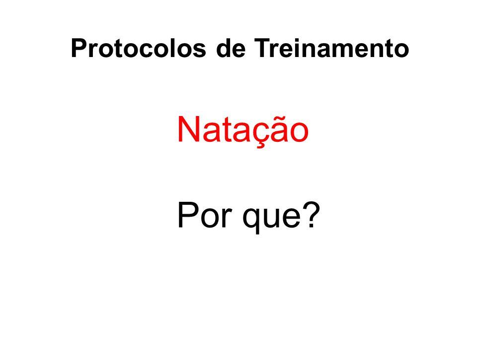 Protocolos de Treinamento Natação Por que?
