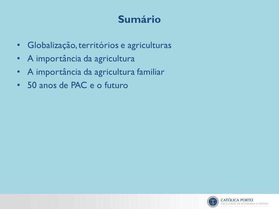 A importância da agricultura familiar A FAO (2012) identificou mais de 36 definições de agricultura familiar de académicos, organismos públicos e organizações não governamentais.