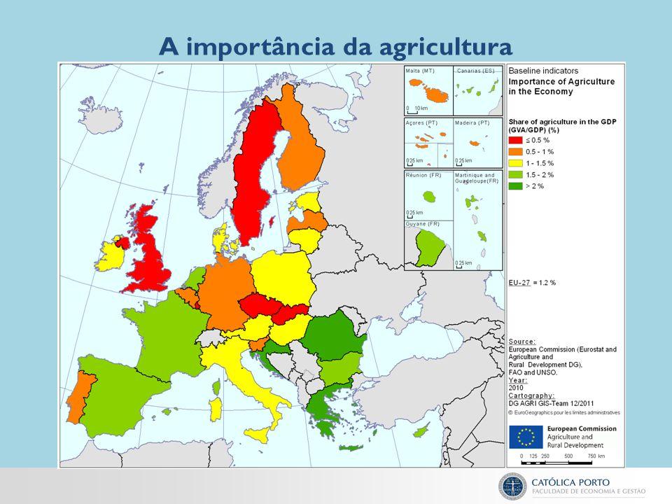 A importância da agricultura familiar Na década de 1980 houve uma grande crise industrial em Portugal.