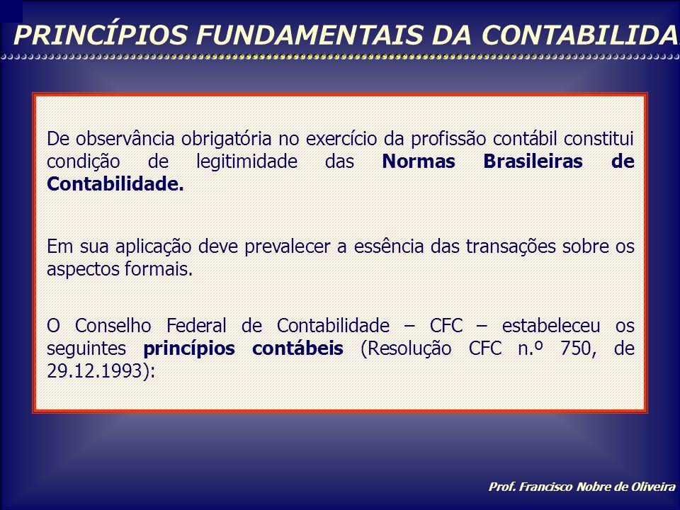 Prof. Francisco Nobre de Oliveira CONTA: DEBITADA OU CREDITADA? Sendo um(a) Então temos uma conta de Cuja natureza é Portanto Aumenta PeloDiminui Pelo
