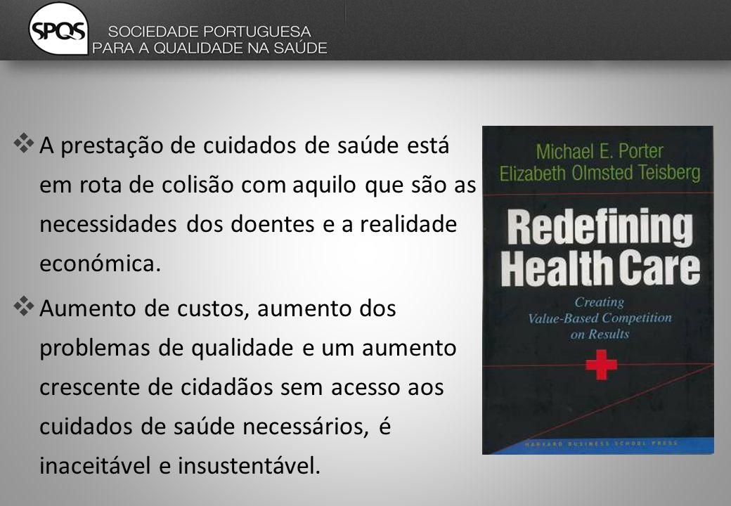  A prestação de cuidados de saúde está em rota de colisão com aquilo que são as necessidades dos doentes e a realidade económica.
