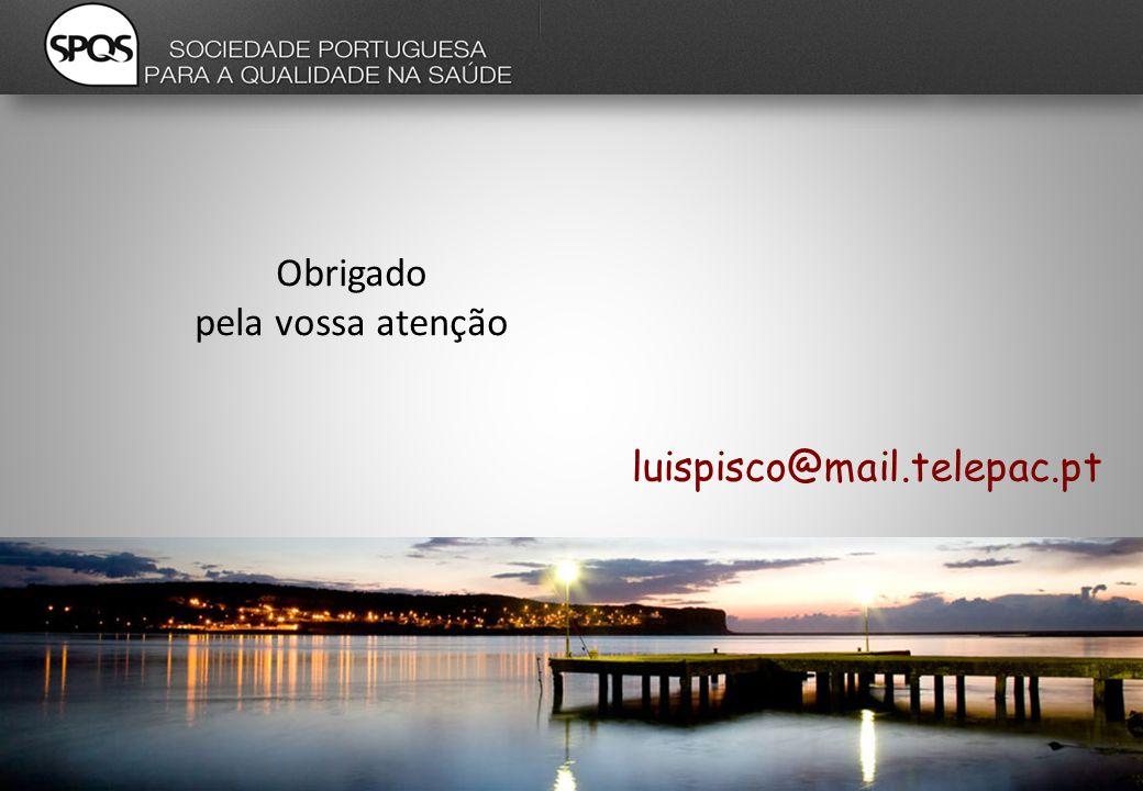 Obrigado pela vossa atenção luispisco@mail.telepac.pt