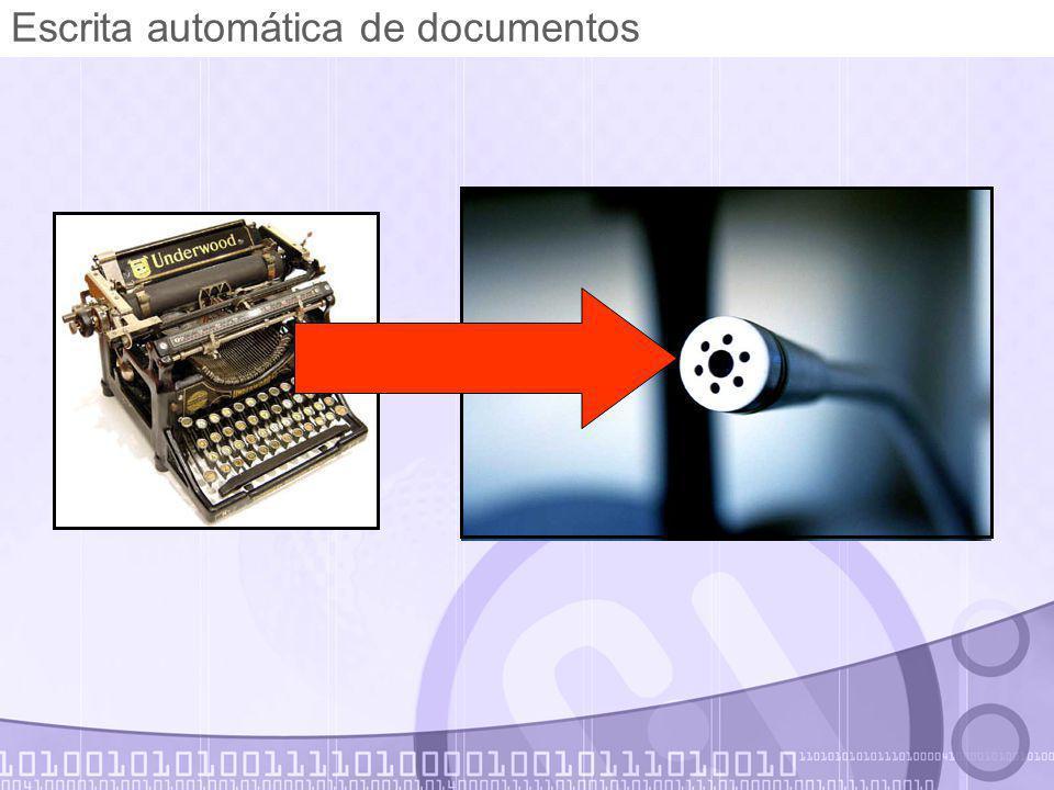 Escrita automática de documentos