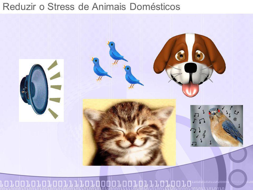 Reduzir o Stress de Animais Domésticos