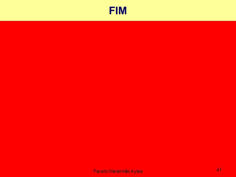FIM Fausto Maranhão Ayres 41