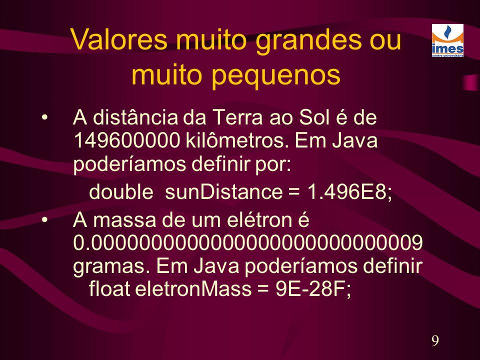 10 numFruit = numApples + numOranges; numApples = numApples + 1; a = b = c = 777; Cálculos Aritméticos