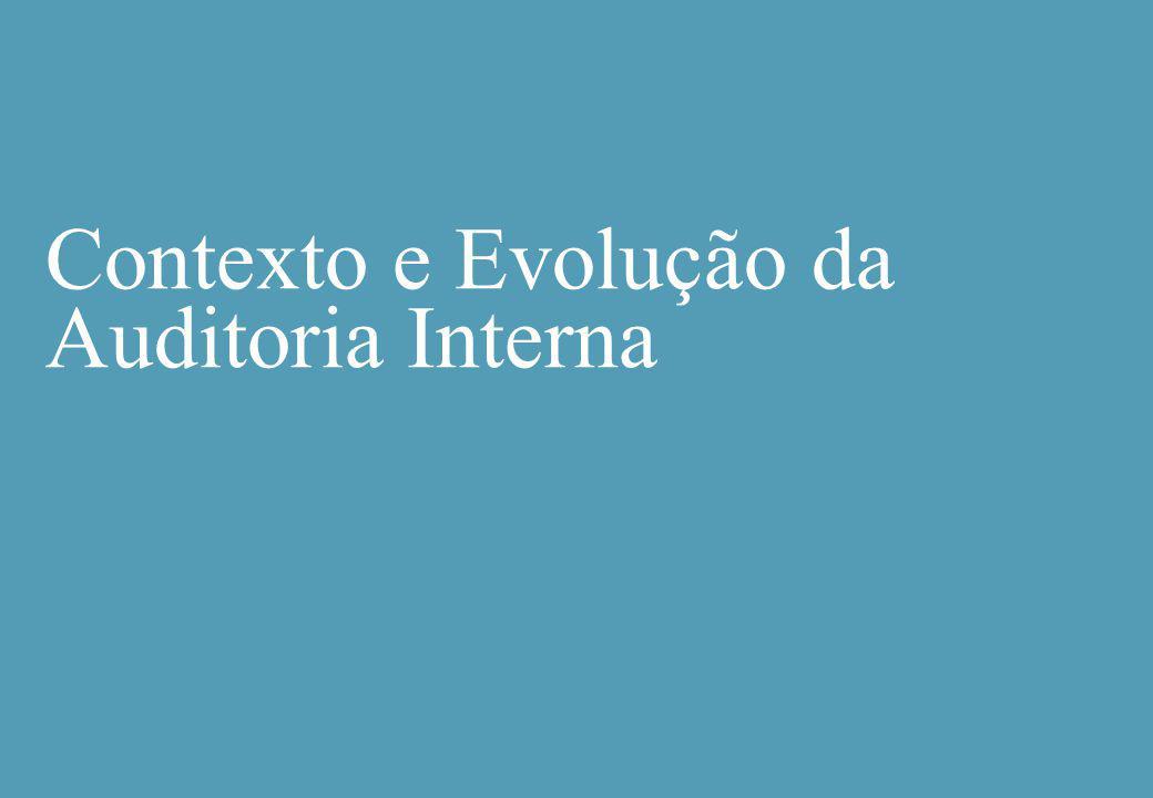 Contexto e Evolução da Auditoria Interna