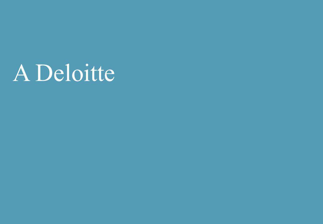 A Deloitte
