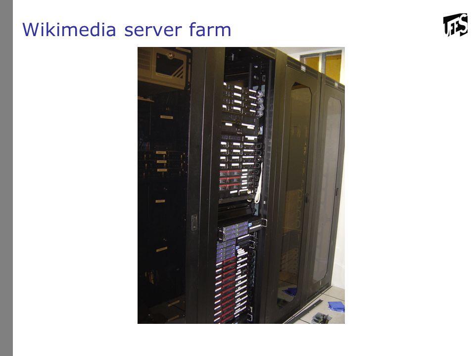 Wikimedia server farm