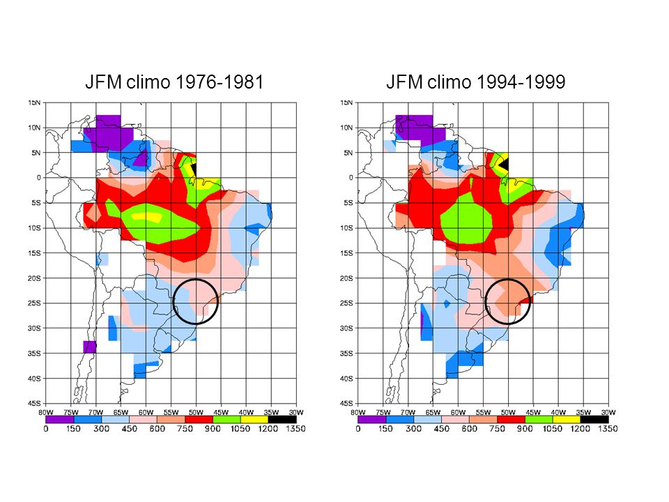 Is observed precipitation trend due to a change in synoptic variability.