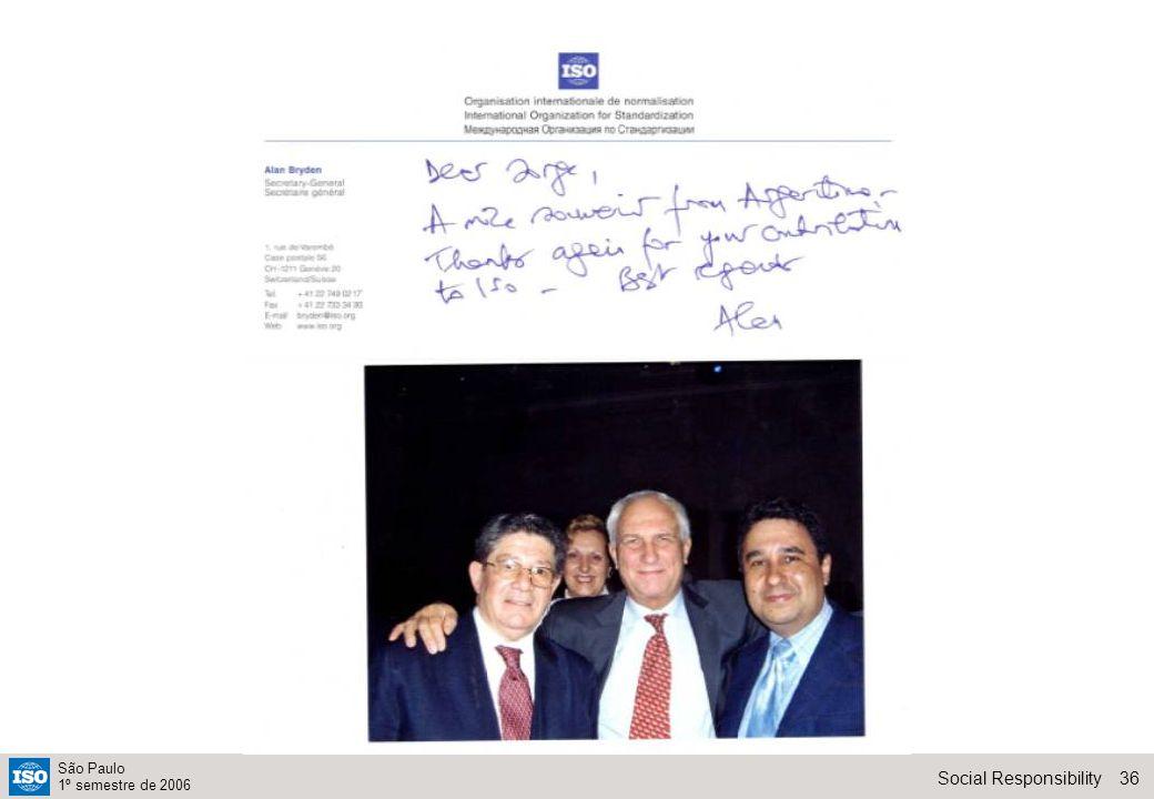36Social Responsibility São Paulo 1º semestre de 2006
