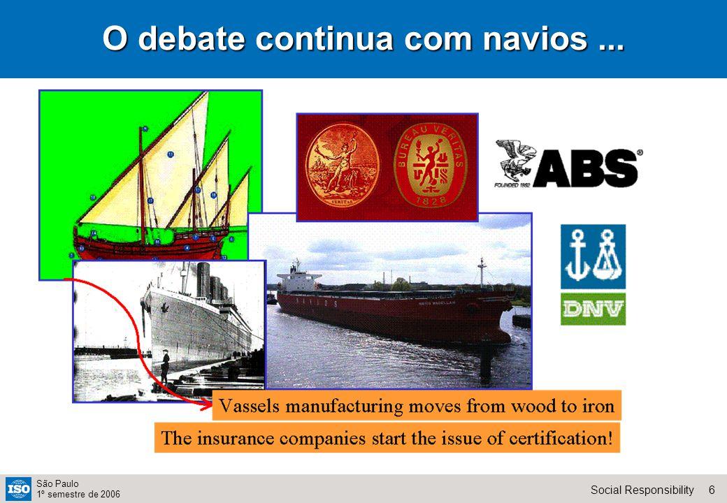 17Social Responsibility São Paulo 1º semestre de 2006 Uma pesquisa interessante