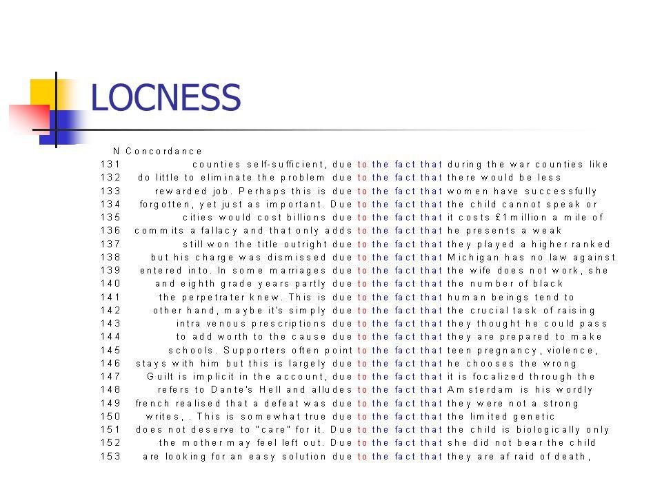 LOCNESS