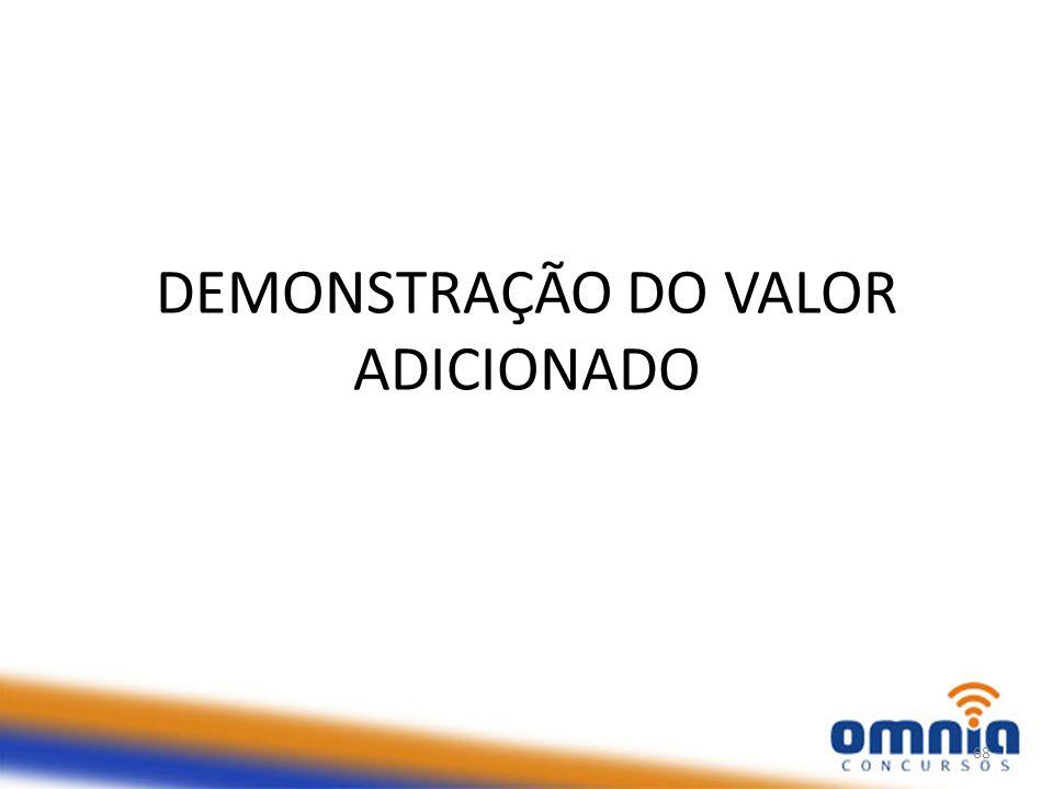 DEMONSTRAÇÃO DO VALOR ADICIONADO 68