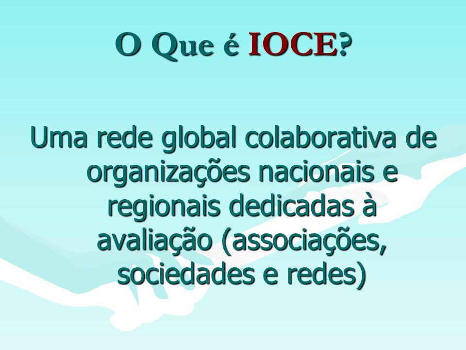 Qual é a missão da IOCE.