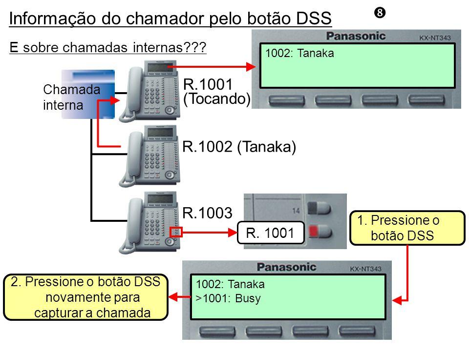 1002: Tanaka R.1001 (Tocando) R.1003 R.