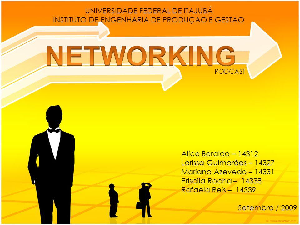 Networking é a arte de construir e manter relacionamentos vantajosos.