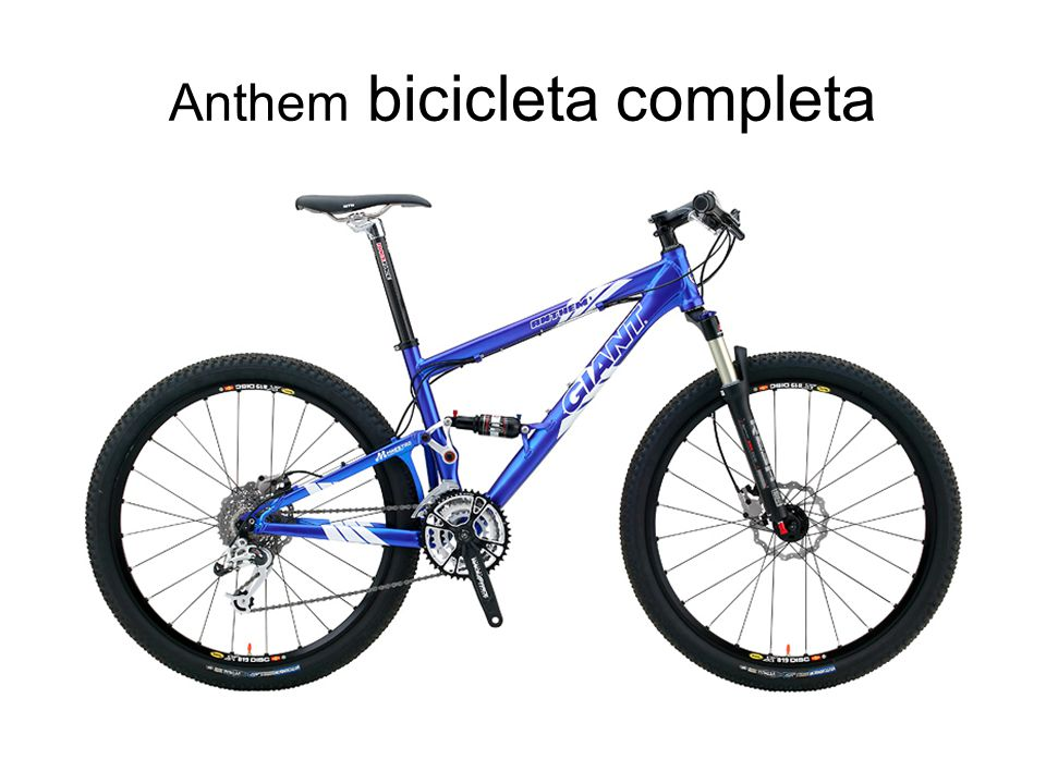 Anthem bicicleta completa