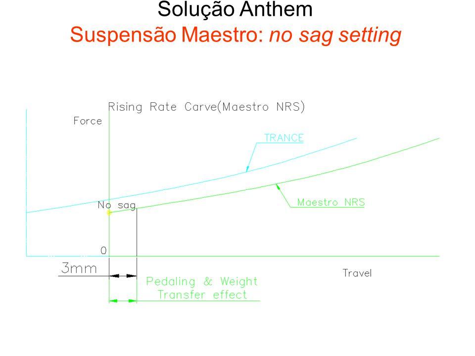 Solução Anthem Suspensão Maestro: no sag setting