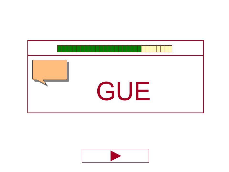 M N Ñ J G Q C A E I O U GU…