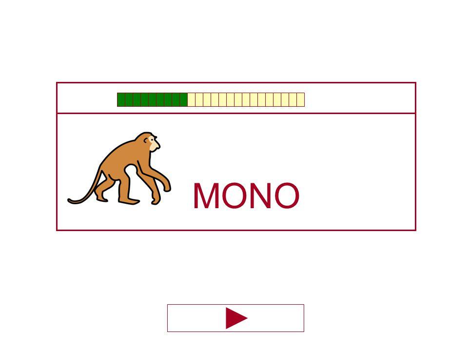 MO … NO MO ÑO BO
