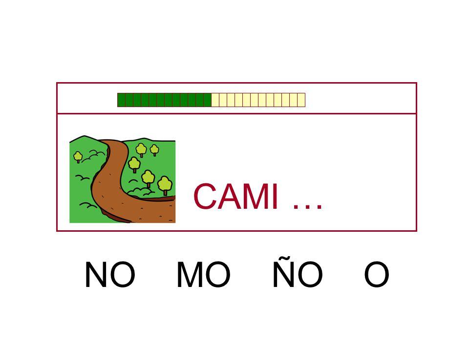 CA … NI MI ÑI ME NE