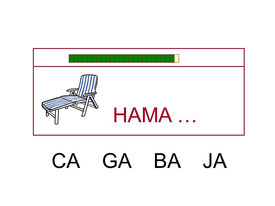HA … A MA NA JA