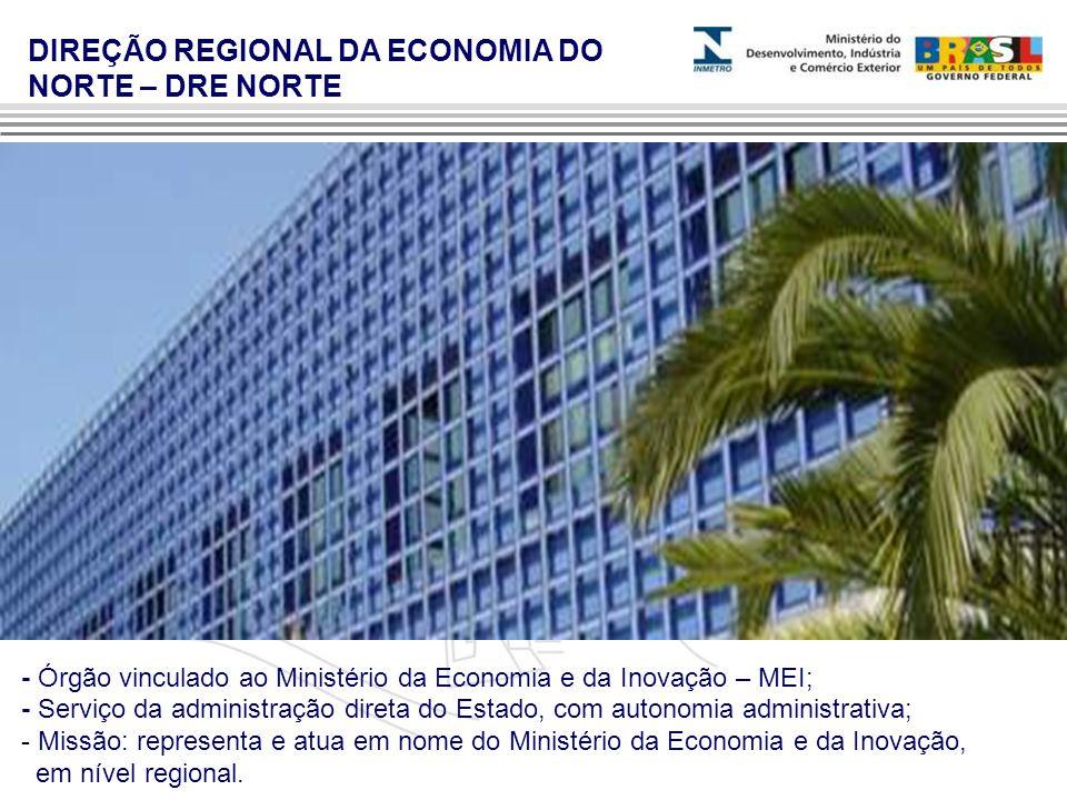 - Órgão vinculado ao Ministério da Economia e da Inovação – MEI; - Serviço da administração direta do Estado, com autonomia administrativa; - Missão: