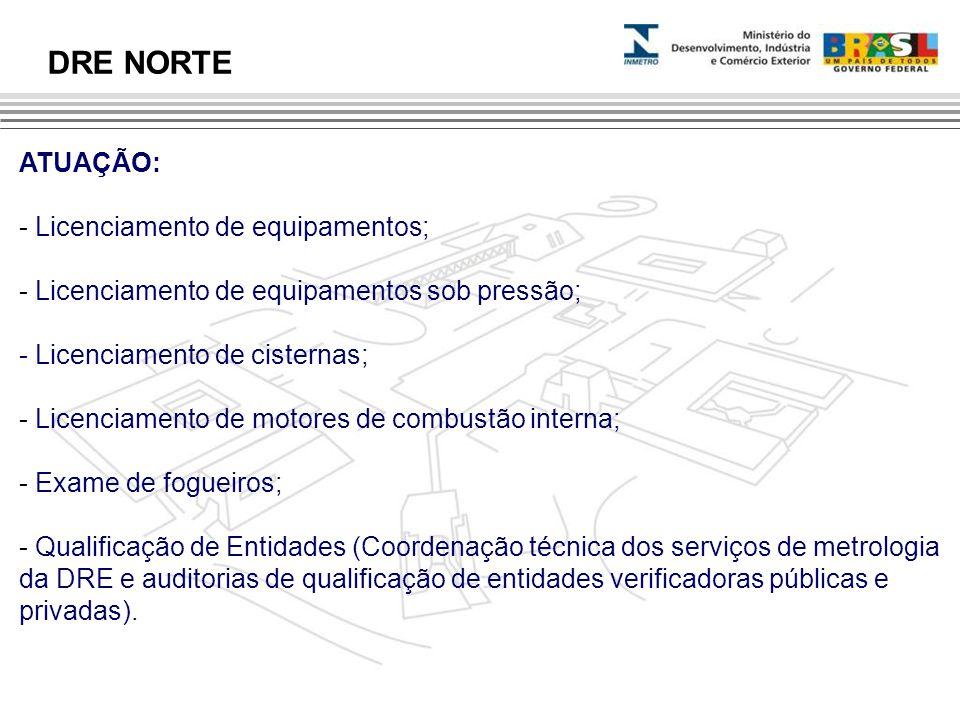 ATUAÇÃO: - Licenciamento de equipamentos; - Licenciamento de equipamentos sob pressão; - Licenciamento de cisternas; - Licenciamento de motores de com