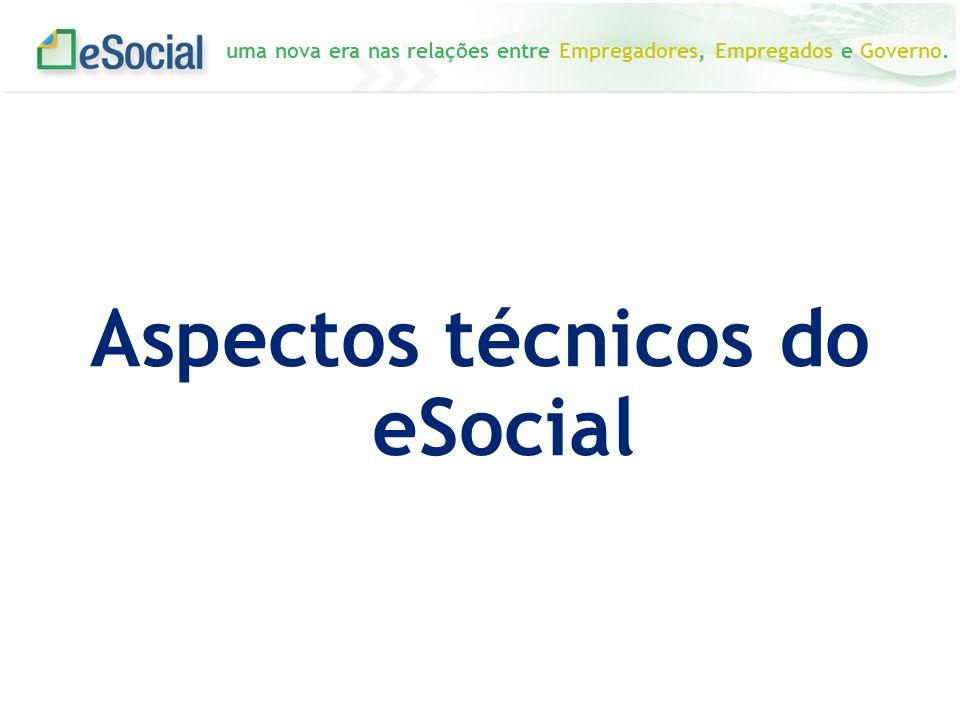 uma nova era nas relações entre Empregadores, Empregados e Governo. Aspectos técnicos do eSocial
