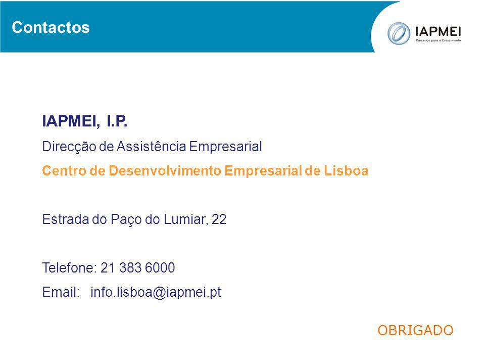 Contactos IAPMEI, I.P.
