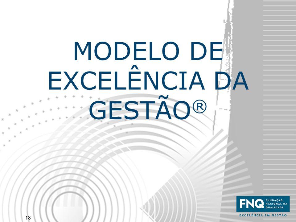 18 MODELO DE EXCELÊNCIA DA GESTÃO ®