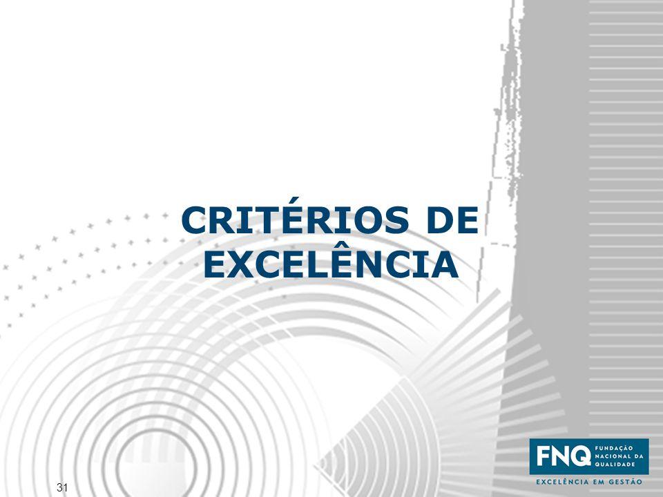 31 CRITÉRIOS DE EXCELÊNCIA
