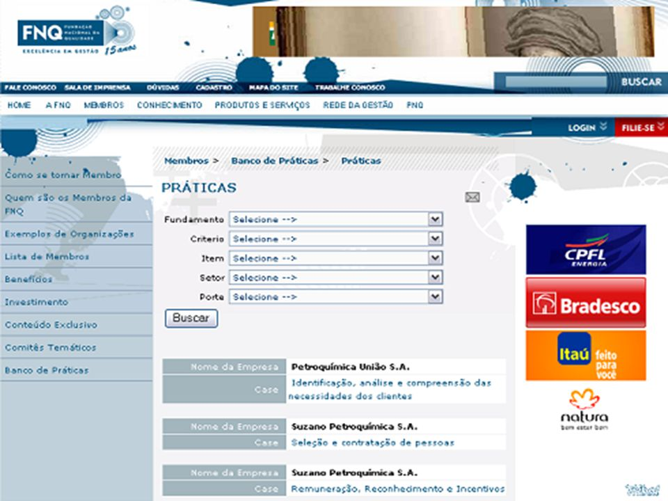 48 PORTAL: www.fnq.org.br