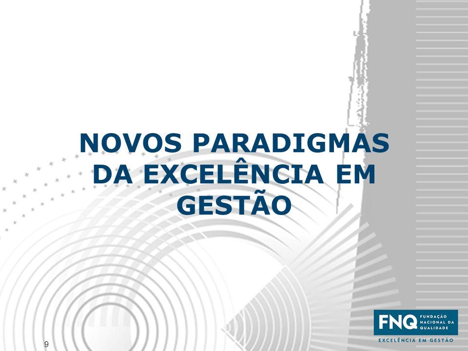 9 NOVOS PARADIGMAS DA EXCELÊNCIA EM GESTÃO