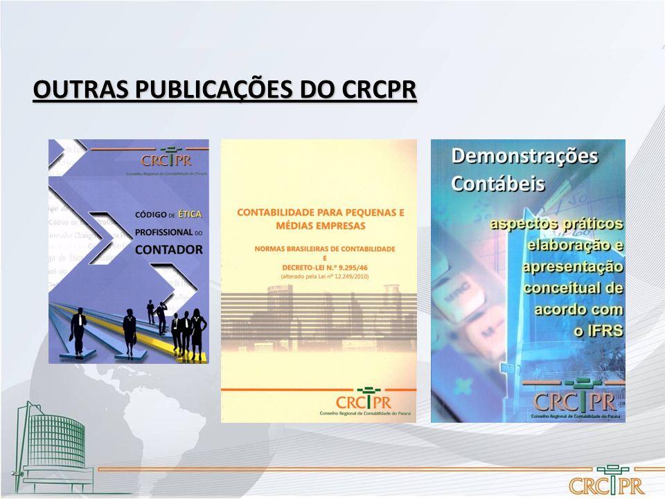 OUTRAS PUBLICAÇÕES DO CRCPR