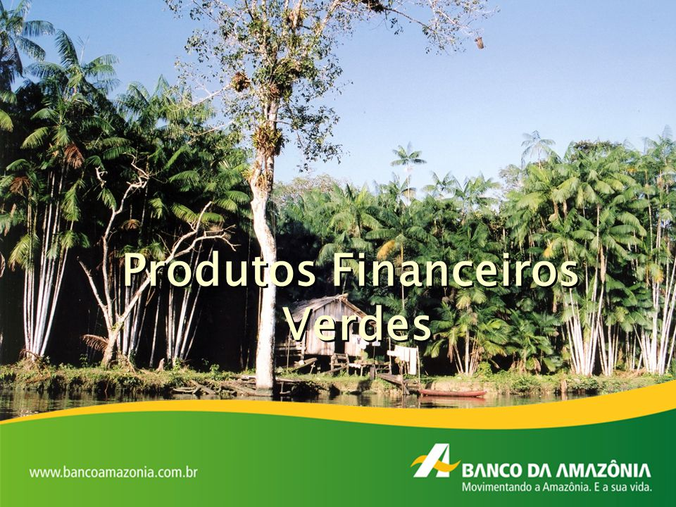 Produtos Financeiros Verdes